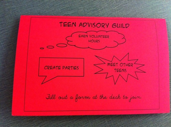 teen advisory
