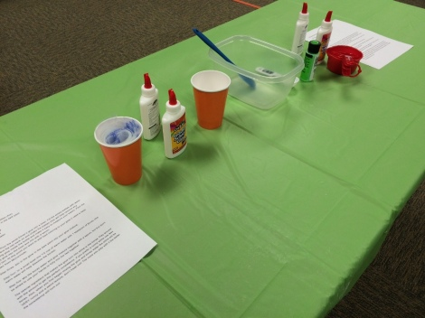 slime table